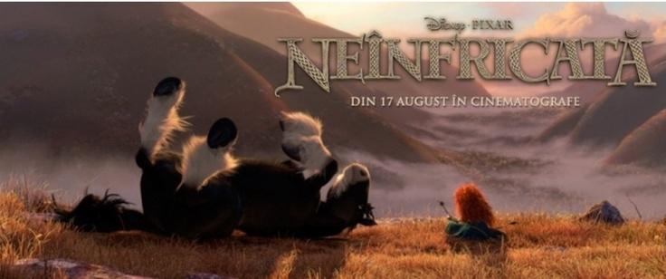 Merida și calul său într-un peisaj minunat:)