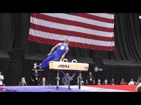 ▶ Jonathan Horton - Pommel Horse - 2014 P&G Championships - Sr. Men Day 1 - YouTube