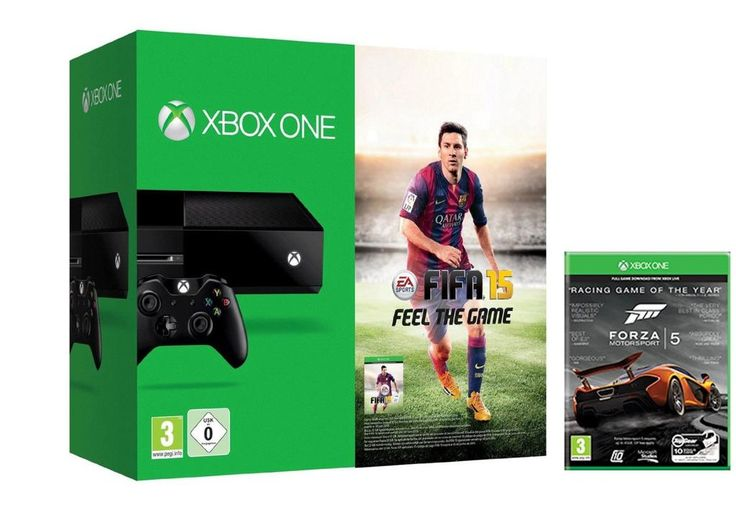 LOWEST EVER PRICE DROP Xbox One Console FIFA 15 + Forza 5 NOW £329