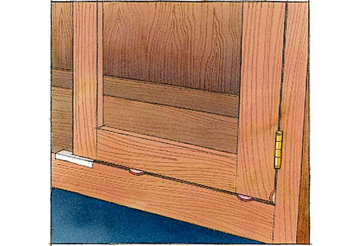 Attach Cabinet Doors