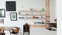 This Gorgeous Loft Renovation Makes Magic From Everyday Raw Materials