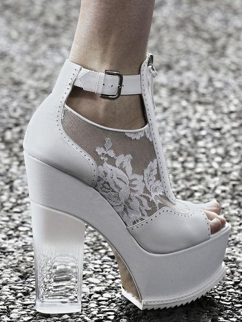 fashioninquality: Shoe Porn at Erdem Spring Summer 2014