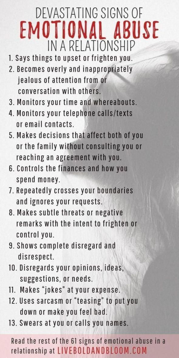 Learn to recognize the signs of emotional abuse in relationships so you can star…  – #truth