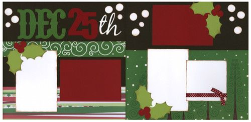 Out on A Limb Scrapbooking Premade Page Kit Dec 25th | eBay