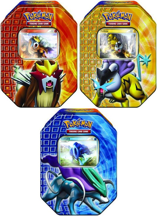 Pokemon - 2010 Fall Collector's Tin Three different tins available. 4 Pokemo - Cards / Albums - Pokemon - Popcultcha
