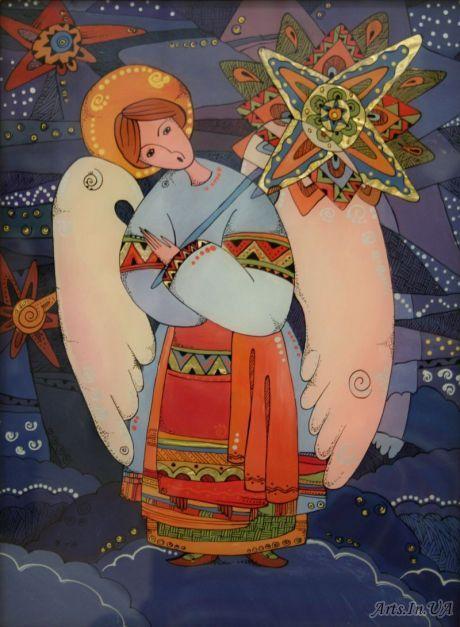 Різдвяний ангел - Курий-Максымив Наталя