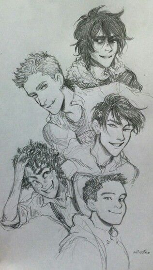 The boys #HeroesofOlympus