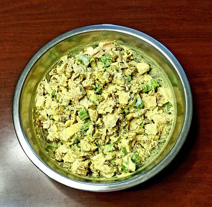 My Curry Chicken Salad