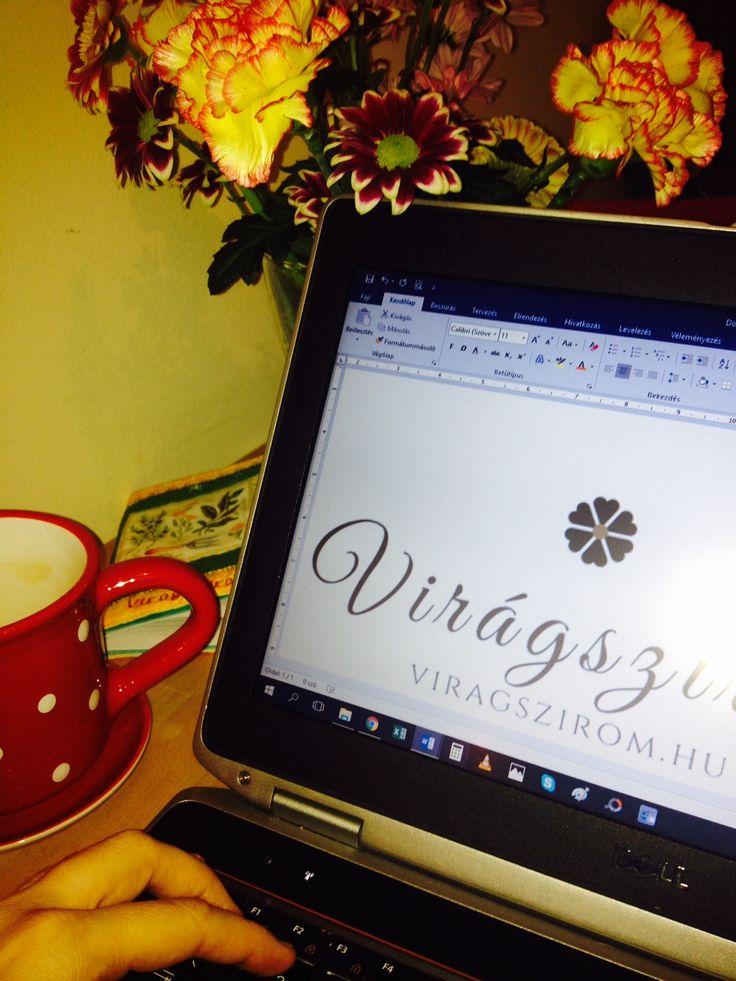 Virágszirom office work