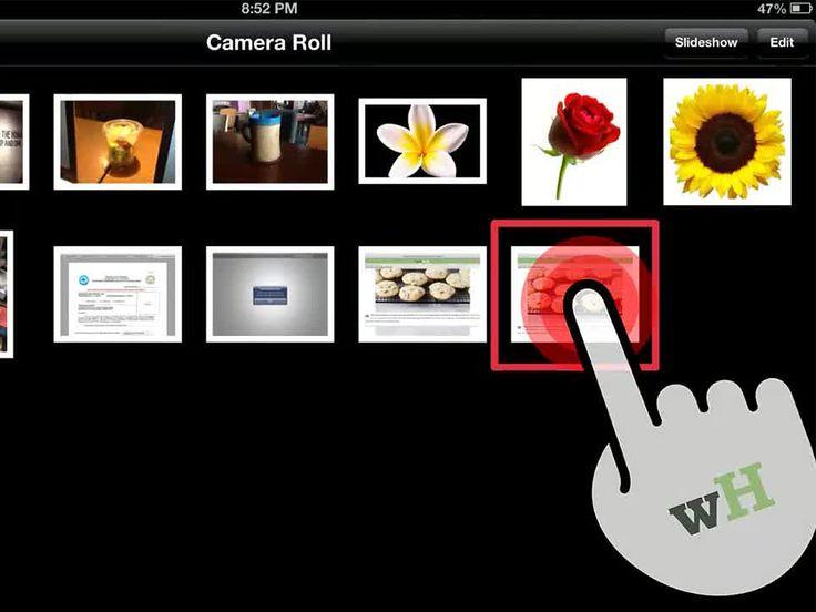 How to take a screenshot with an iPad