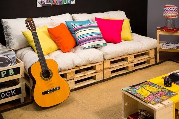 outra idéia de sofá de pallet