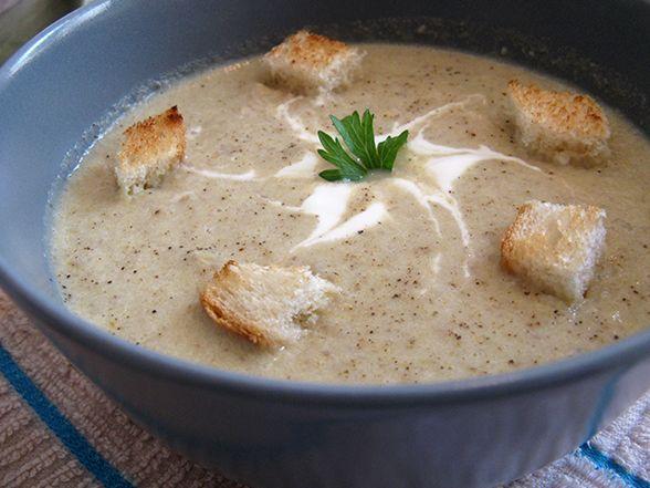 Gustozy: Supa (crema) de ciuperci