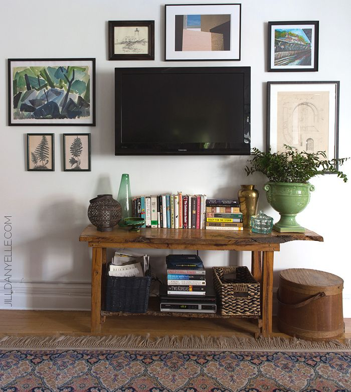 17 Best Ideas About Large Wall Art On Pinterest: 17 Best Ideas About Tv Gallery Walls On Pinterest