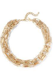 Kenneth Jay LaneGold-tone necklace