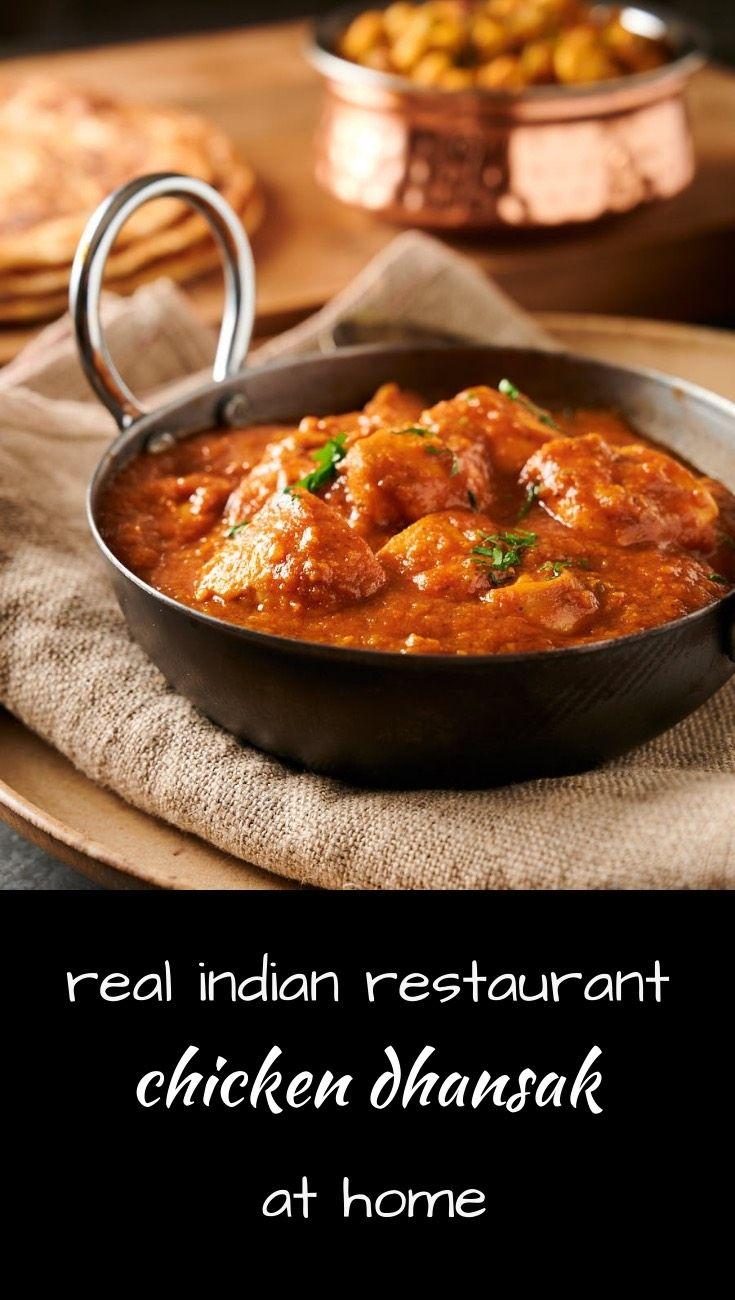 Indian Restaurant Dhansak Curry
