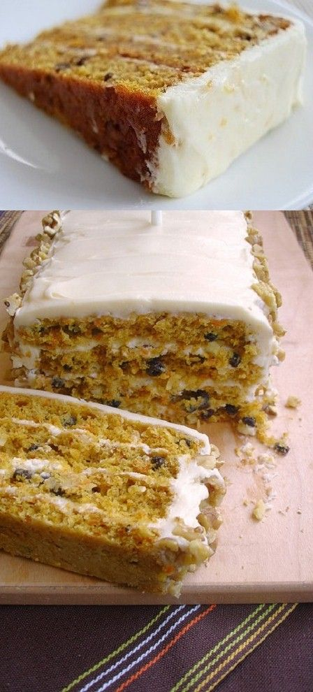 Classic Carrot Cake ~ Cream Cheese Frosting :: Martha Stewart's made-from-scratch recipe ... #holiday #party #dessert #favorite