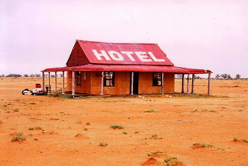 Australian Outback Pub.....youcan always find a beer.....if nothing else…