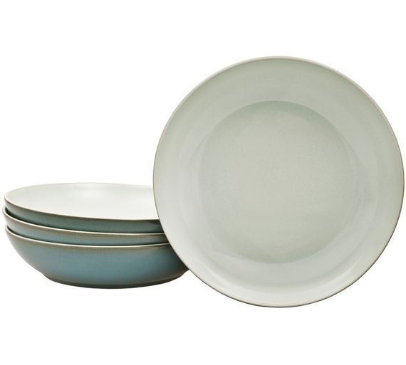 Buy Denby Everyday Set of 4 Pasta Bowls - Teal at Argos.co.uk - Your Online Shop for Crockery, Tableware, Cooking, dining and kitchen equipment, Home and garden.