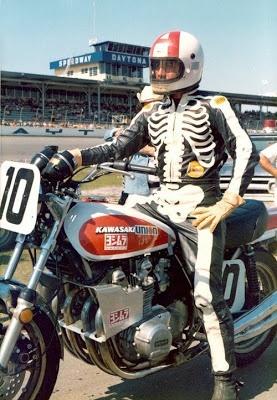 Dave Aldana Bates skeleton leathers