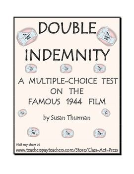 If your students are studying famous films of the 1940s or famous movies in the film noir genre, youre probably featuring Double Indemnity.This 1944 film, directed by Billy Wilder, stars Fred MacMurray as an insurance salesman, Barbara Stanwyck as a housewife who wishes that her husband were dead, and Edward G.