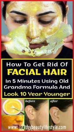 How To Get #Rid Of #FACIAL #HAIR In 5 Minutes Utilizing #Outdated Grandma #Formulation And Lo…