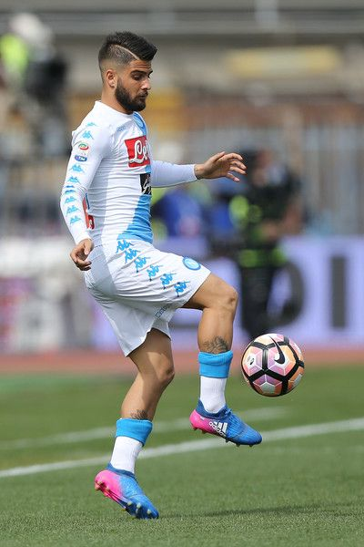 Lorenzo Insigne of SSC Napoli in action during the Serie A match between Empoli FC and SSC Napoli at Stadio Carlo Castellani on March 19, 2017 in Empoli, Italy.