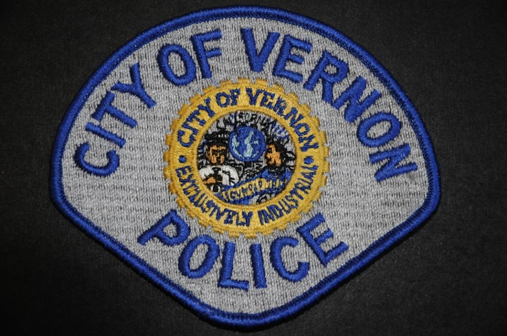 Vernon Police Patch, Los Angeles County, California (Vintage 1983 - 4th Issue)