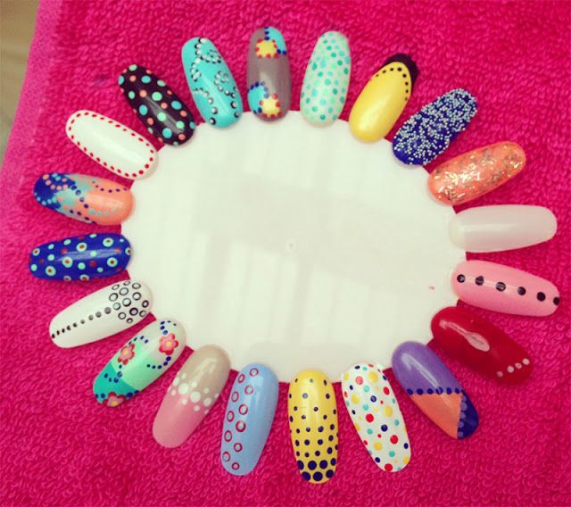 Manicure Monday: Going Dotty for Bourjois