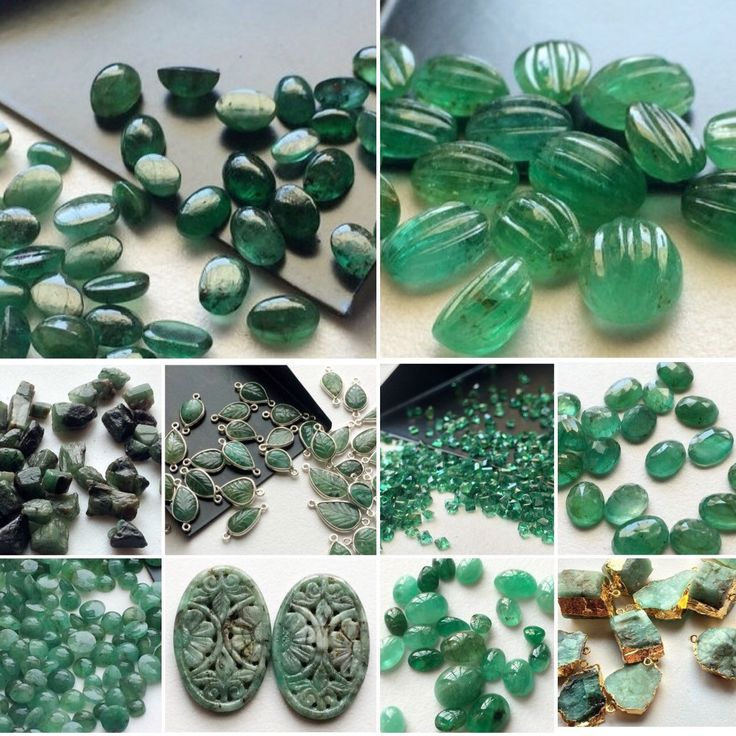 The Royal Emeralds- Original Natural Emerald in all forms - from the Rough to the polished cabs to the hand carved connector- Gemsforjewels brings you the widest range on ETSY!Shop for smashing prices flat 50% off & make these remarkable gemstones yours!