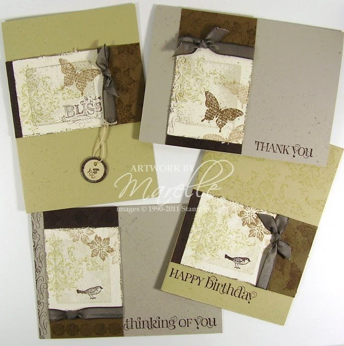 Marelle Taylor Stampin' Up! Demonstrator Sydney Australia: Stamp-a-Stack