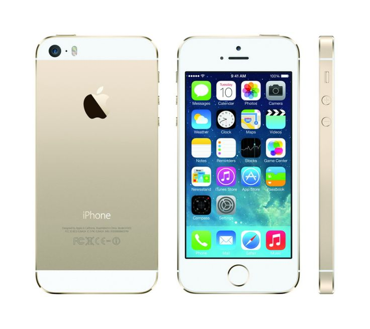 #iPhone 5S Gold