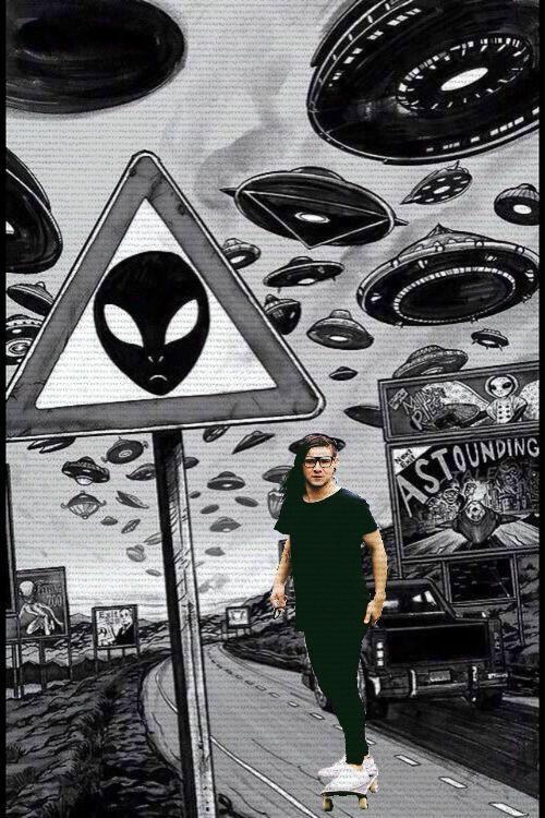 293 best skrillex images on pinterest skrillex dubstep and dj aliens have come voltagebd Gallery