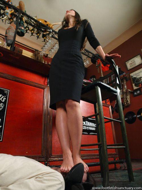 Female domination foot worship-9702