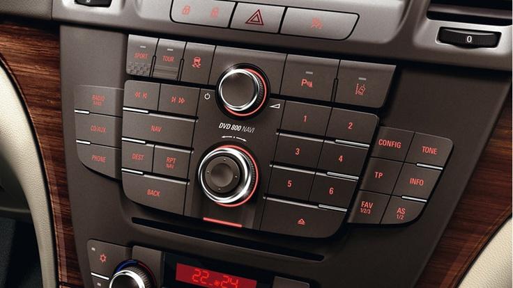 Insignia Sedán - Radio