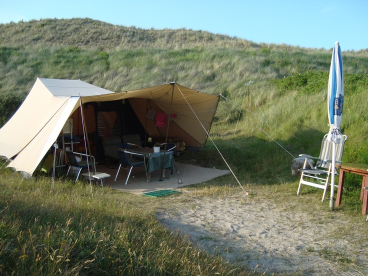 De Waard tent op camping Stortemelk.