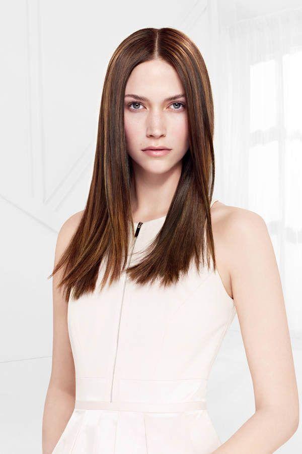 Aber es muss nicht immer wild und crazy sein in Sachen Haarfarben 2015. Auch so ein schönes, sattes Brünett spielt eine Rolle bei den Haarfarben Trends.