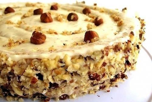 Итальянский ореховый торт. | Школа красоты