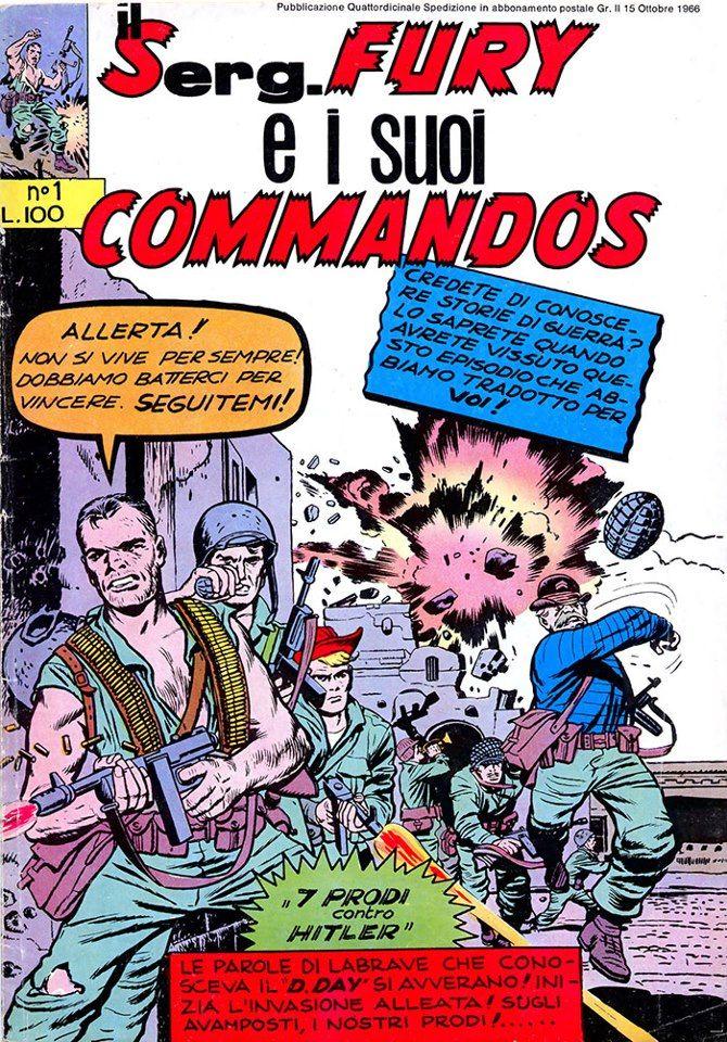 1945 – 1970: la vita sotterranea della Marvel in Italia