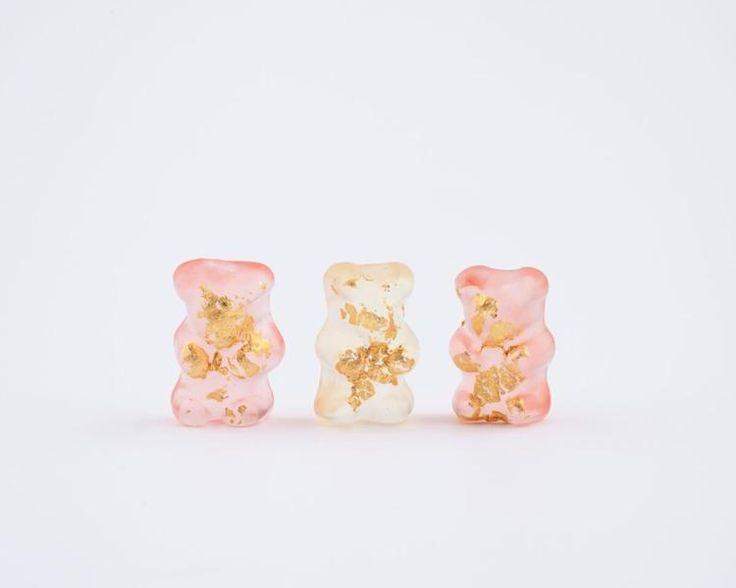 24k gold champagne gummy bears