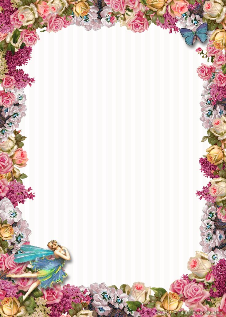 Transparent Birthday Frames And Borders