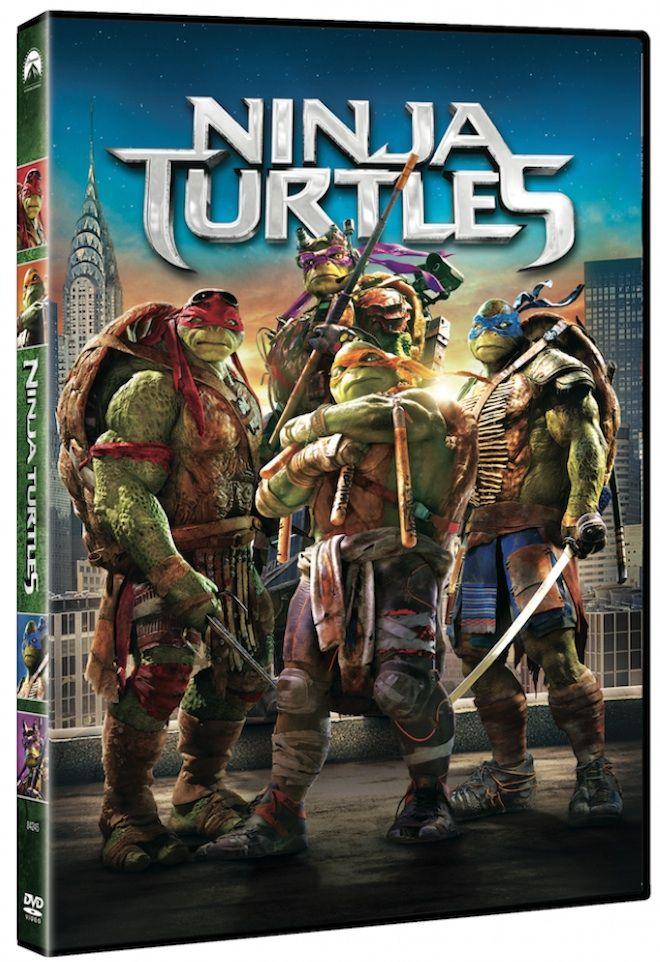 Turtles'  Consigue con CINEMANÍA lotes de regalos de la nueva película de las Tortugas Ninja.  PorCinemanía- 24 de febrero de 2015  El próximo 27 de febrero sale a la venta en VOD, Blu-ray, Blu-ray 3D y dvdNinja Turtles,la nueva película de las Tortugas Ninja dirigida porJonathan Liebesmany conMegan Foxen el papel deApril O'Neil.  Esta es la sinopsis oficial de la película:¡Las Tortugas Ninja regresan más grandes y mejores que nunca en esta triunfal superproducción repleta de…