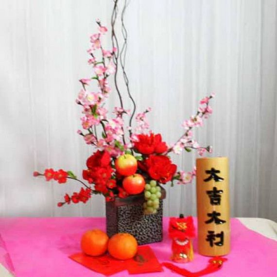 17 best images about chinese new year decor on pinterest New flower decoration