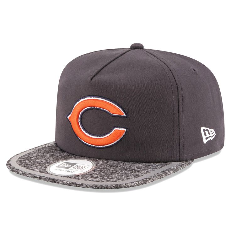Chicago Bears New Era On Field Training Camp A-Frame Adjustable Hat - Gray - $29.99
