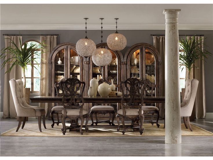 Shop For The Hooker Furniture Rhapsody Rectangular Dining Group W/ 2 Tufted  Chair At Belfort Furniture   Your Washington DC, Northern Virginia,  Maryland And ...