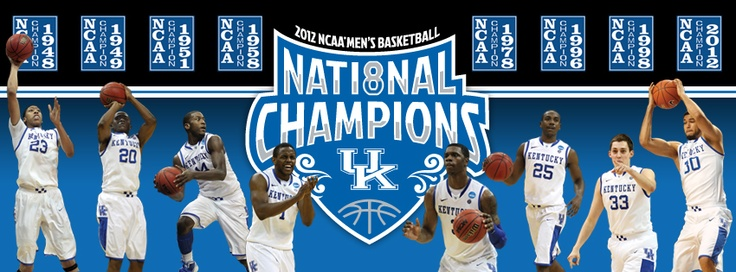 Uk Basketball: #8pril Has Arrived! The Kentucky Wildcats Win Their 8th