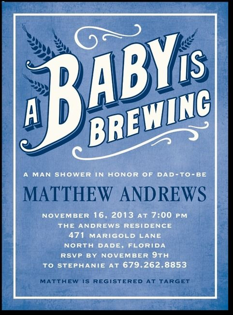 Baby Shower Favors For Jack And Jill ~ Beer belly gibraltar baby shower invitations in
