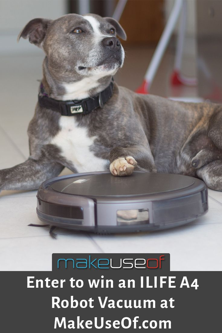 Enter this #giveaway to win a ILIFE A4 Robot vacuum from MakeUseOf! https://wn.nr/ZVZ3wS