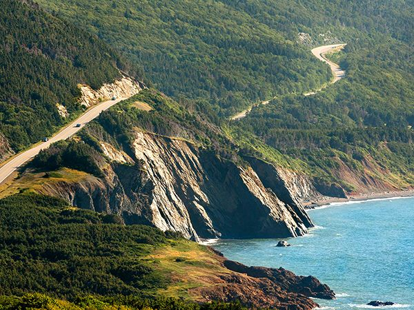 For the love of the ocean, and the coastline. Cabot Trail, Cape Breton, Nova Scotia