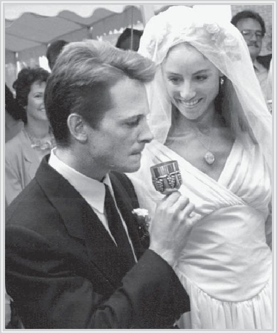 Michael J Fox and Tracy Pollen -Wedding 1988 ........  Four kids later and still married 2014....