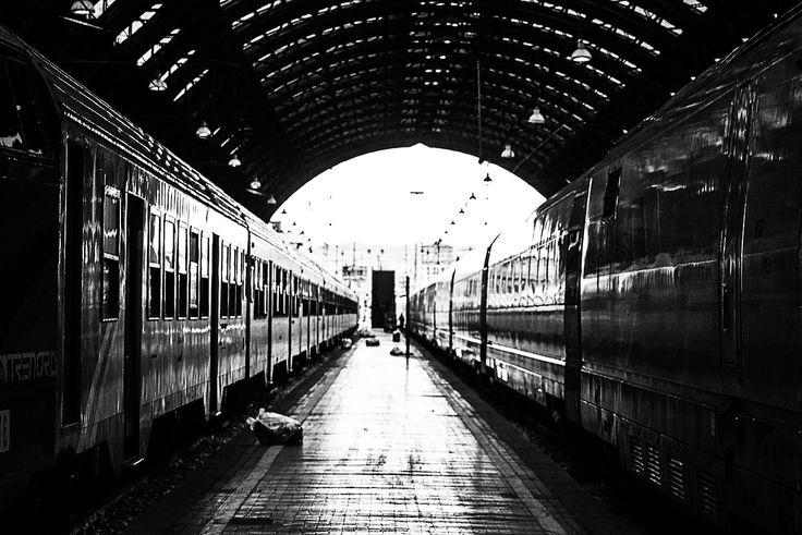 #voyage #train #milan #emanuelemeschini #urban